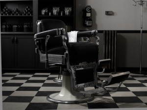 Fauteuil de coiffeur
